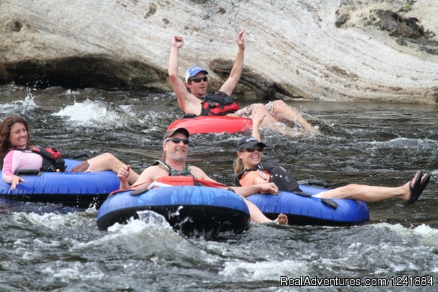 River Tubing Fun - Adirondack Adventures