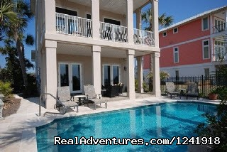 Panama City Beach Rental w/ Pool, Beach View Porch: