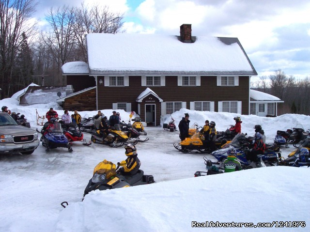 Snowmobiles - Katahdin Lodge