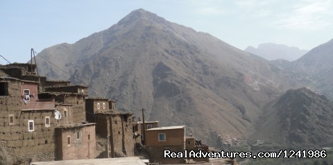 Aourirt n'Ouassif from Mzikane - Toubkal Mountain Leader