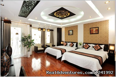 Family room - Wild Lotus Hotel