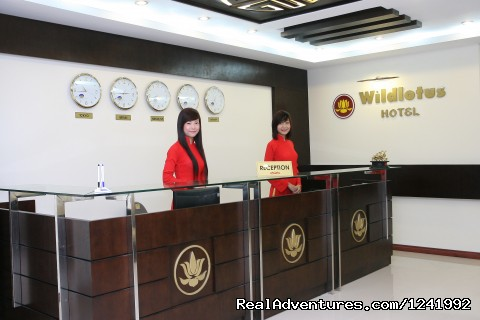 Front Desk - Wild Lotus Hotel