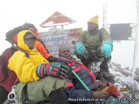 Trek the Rwenzoris 5109m high (the alps of Africa)
