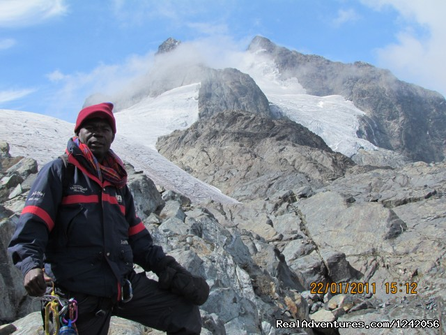 Rwenzori - Main Peaks on Mt, Stanley - Trek the Rwenzoris 5109m high (the alps of Africa)