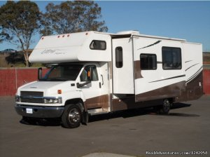 Privately Owned 'CONNIE' 34' Class Super-C RV Fremont, California RV Rentals