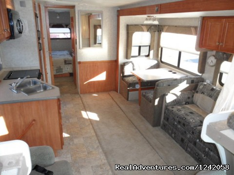 Conquest Super-C Motorhome, Living Room - Privately Owned 'CONNIE' 34' Class Super-C RV