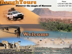 Rough Tours Morocco Marrakech, Morocco Sight-Seeing Tours