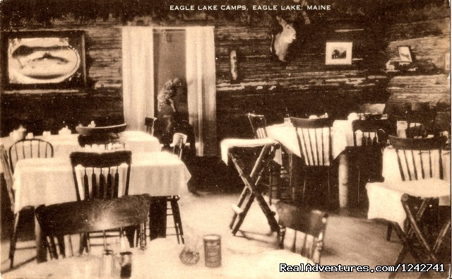 Historic Dining Room - View Northern Maine's Boreal Species