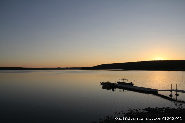 Docks and memorable sunsets (#21 of 24) - View Northern Maine's Boreal Species