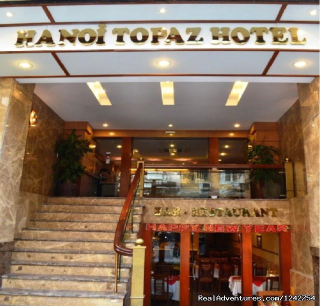 Facade - Hanoi Topaz Hotel - newly boutique hotel in Hanoi