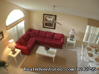 Living Room (#7 of 14) - Disney World Resort Area Vacation Homes