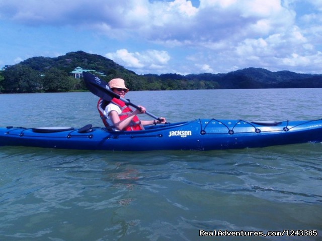 - Kayaking the Panama Canal