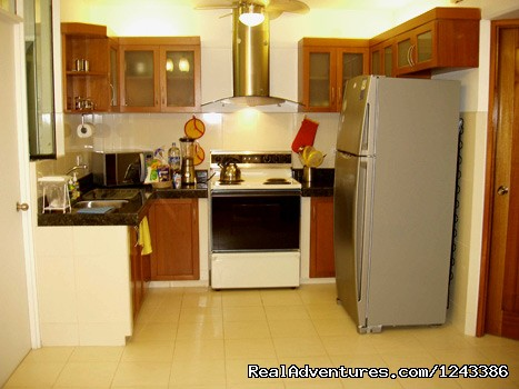 Kitchen Area - New comfortable duplex close to Miraflores Beaches