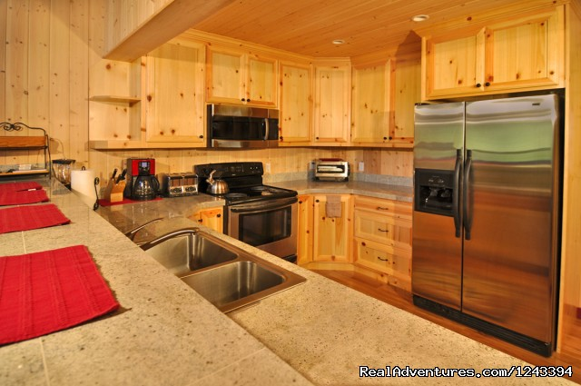 Fully Equipped Kitchens - Cabin Rentals at Stevens Pass & Leavenworth