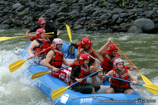 Rafting in one of top rivers in the world