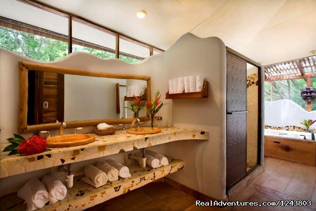 Bathroom - Unique Bungalows in Santa Teresa Beach
