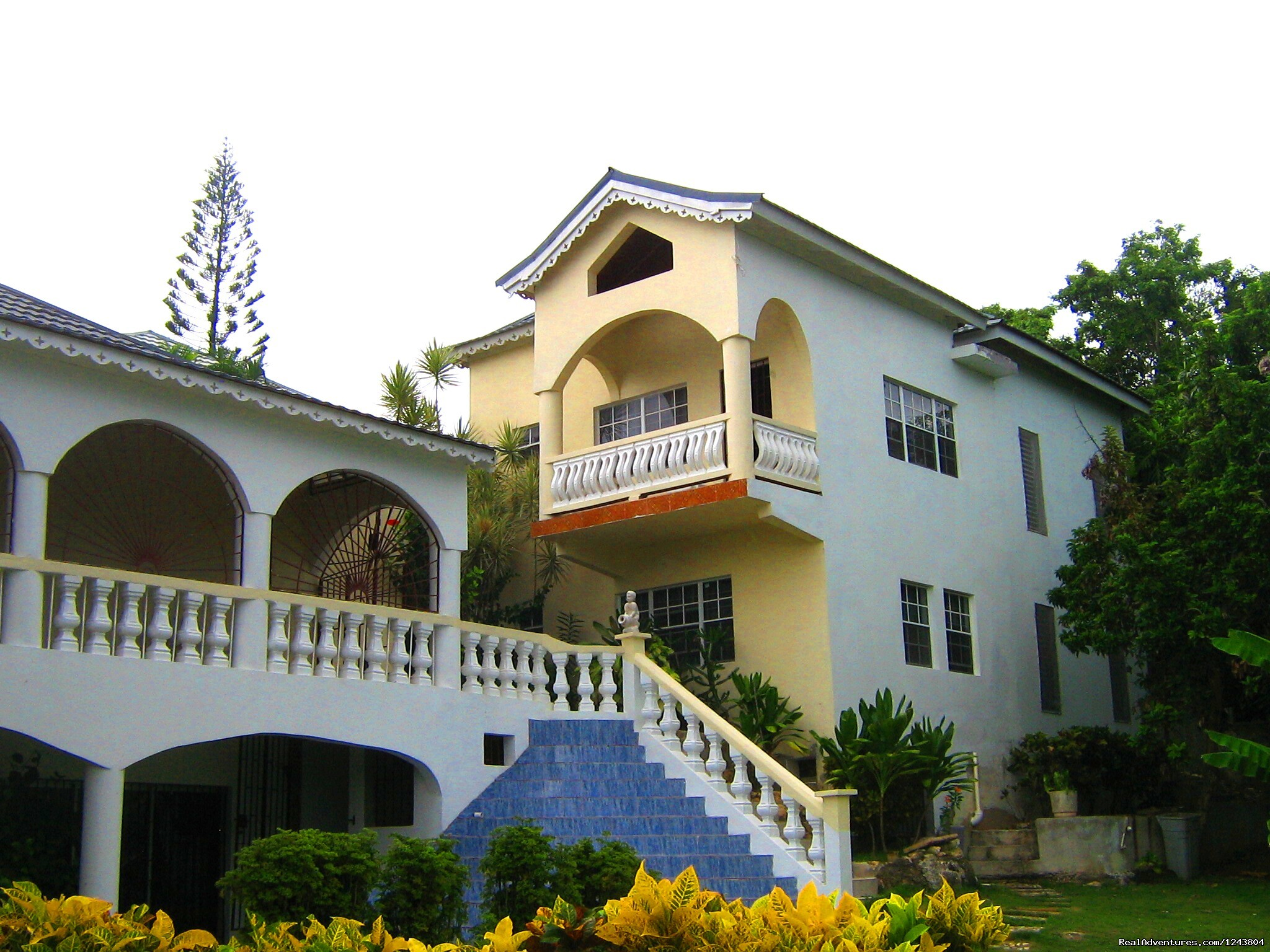 Back view of the villa | Image #18/18 | Welcome To The Villa Roma Located In Montego Bay