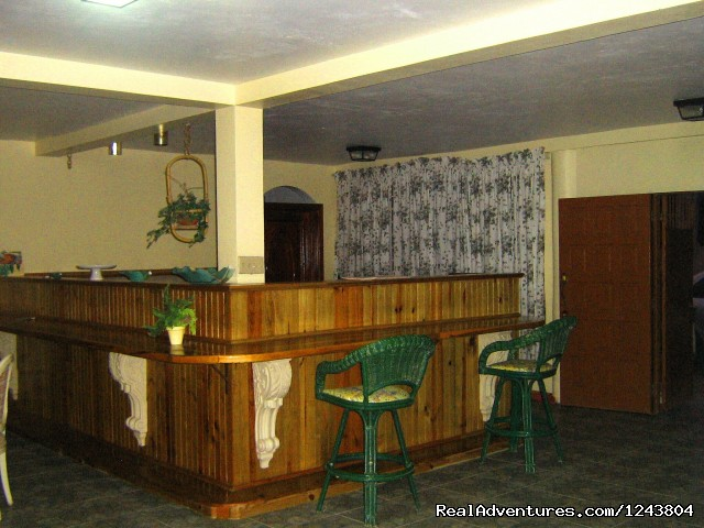 Welcome To The Villa Roma Located In Montego Bay: Inside bar