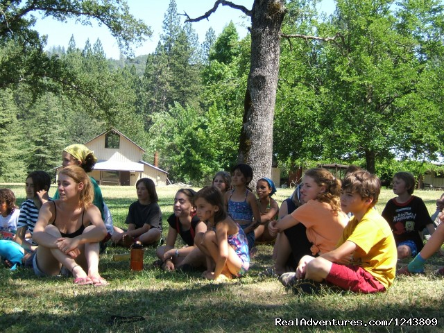 Story Time (#2 of 6) - Summer Camp for 6-16 year olds in the Sierras