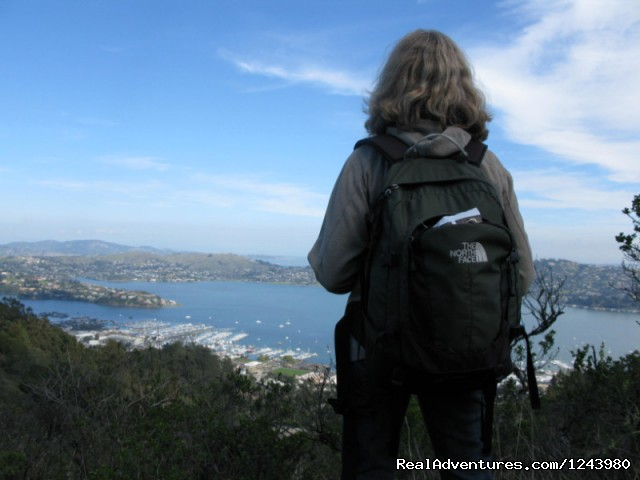 Sausalito overlook - Inn To Inn Treks Along San Francisco Coast