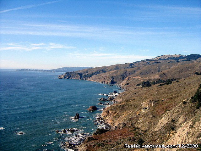 Coastal trail view - Inn To Inn Treks Along San Francisco Coast