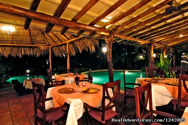 Restaurant at Jardin del Eden Hotel - Jardin del Eden Hotel, Tamarindo Beach Costa Rica