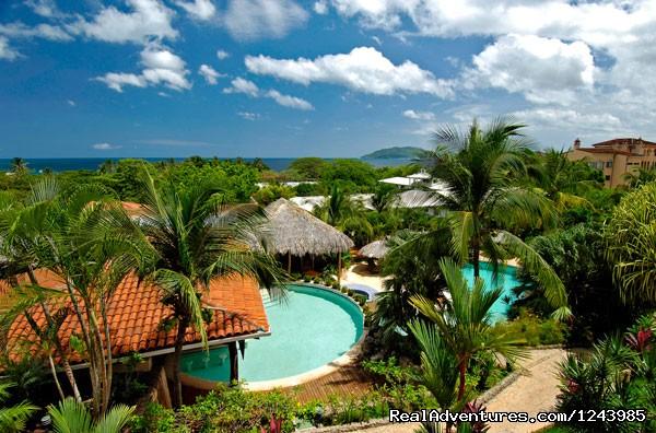 View at Jardin del Eden Hotel - Jardin del Eden Hotel, Tamarindo Beach Costa Rica