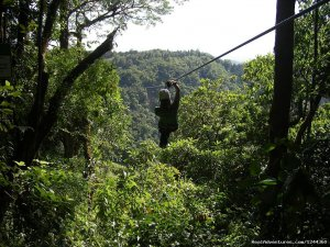 Zip Line, Rappelling in Waterfalls & Canyoneering Ponce, Puerto Rico Eco Tours