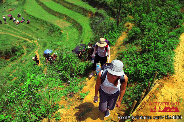 Great trekking and homestay in Sapa, Vietnam