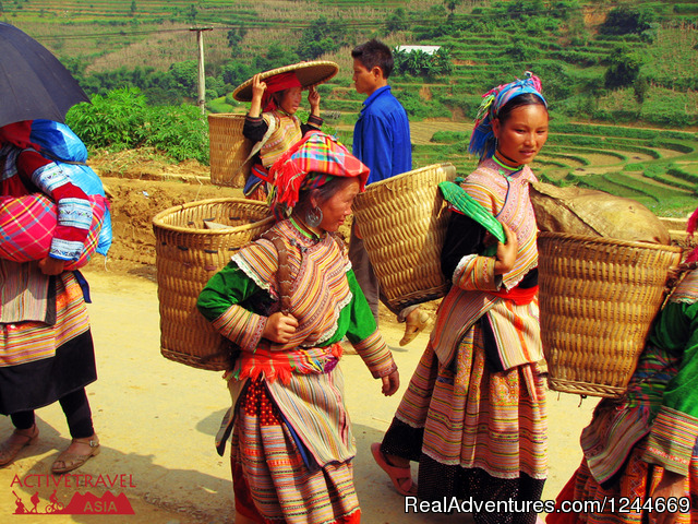 Sapa minority villages - Great trekking and homestay in Sapa, Vietnam