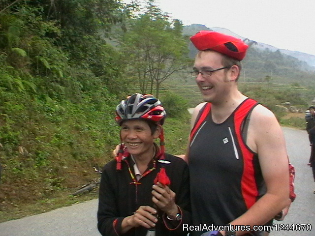 Great biking across northern Vietnam: Vietnam biking tours