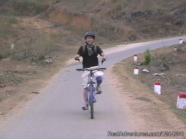 - Great biking across northern Vietnam
