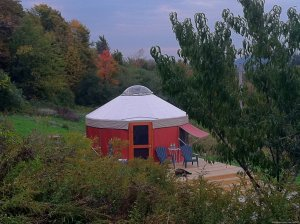 Yurt for Rent- Private Nature Retreat Waterville, New York Vacation Rentals