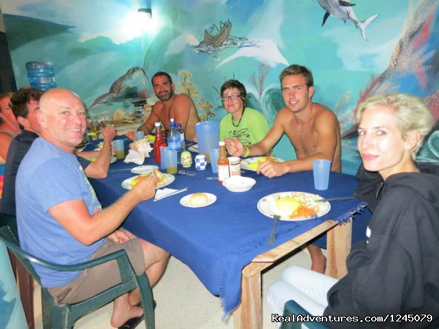 - Diving on remote Caribbean island in Belize