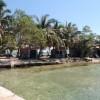 Seafront cabanas