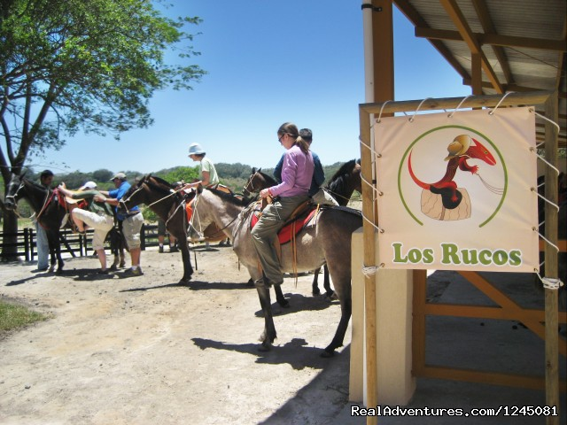 Horseback Riding, Canopy Tours & Volcanic Mud Spa Horseback Riding