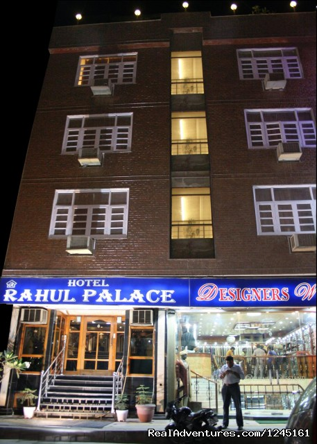 Great Luxury & Great Budget Hotel Rahul Palace: Front View