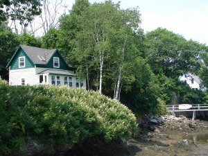 Quiet Maine Waterfront Cottage Vacation Rentals Georgetown, Maine