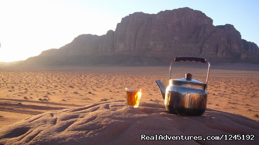 Badia Tours & Stables - Bedouin tea (#7 of 25) - Horseriding in Wadi Rum Desert with Arabian horses