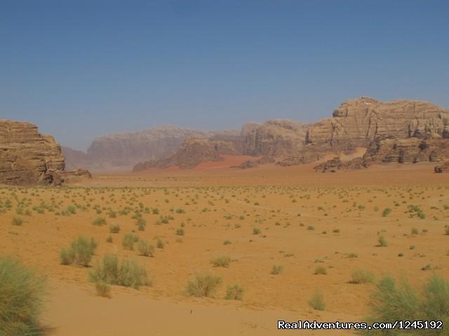 Badia Tours & Stables - Desert scenery (#10 of 25) - Horseriding in Wadi Rum Desert with Arabian horses