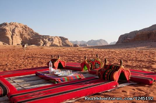 Badia Tours & Stables - Lunch camp (#9 of 25) - Horseriding in Wadi Rum Desert with Arabian horses