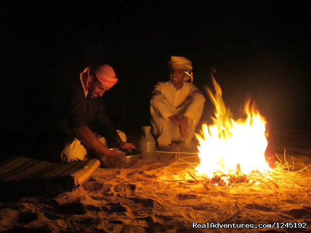 Badia Tours & Stables - Night camp  - Horseriding in Wadi Rum Desert with Arabian horses