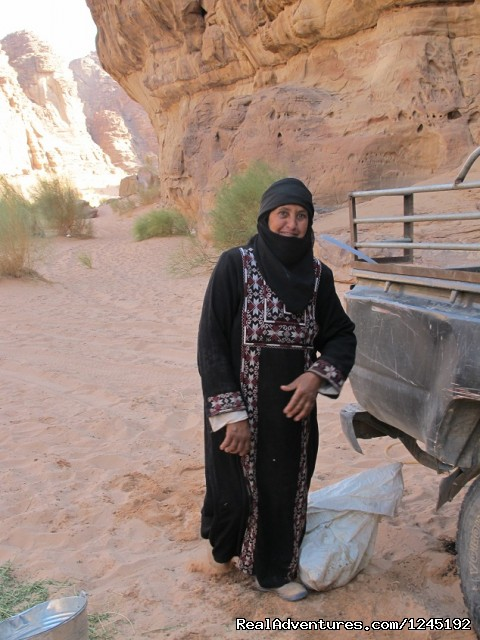 Badia Tours & Stables - Bedouin woman (#18 of 25) - Horseriding in Wadi Rum Desert with Arabian horses