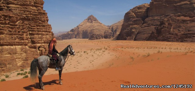 Badia Tours & Stables - Desert scenery (#21 of 25) - Horseriding in Wadi Rum Desert with Arabian horses