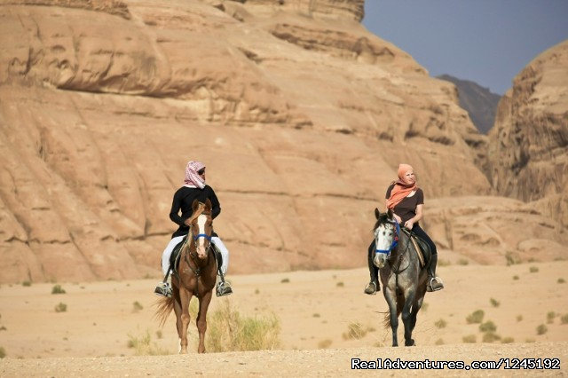 Badia Tours & Stables - Riders - Horseriding in Wadi Rum Desert with Arabian horses