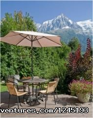 Yoga, Massage & Adventure Retreat in Chamonix, FR Chalet Les Vernays Summer outdoors