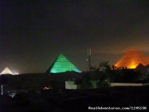 Apartment with pyramids view roof for rent Vacation Rentals Cairo, Egypt