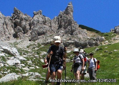 Active Family, South Crest of Monte Morrone