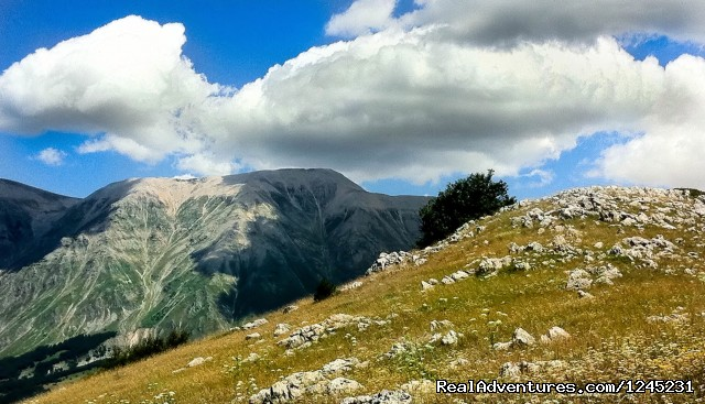 Towards the Summit of Monte Morrone - Italy' secret region - Abruzzo