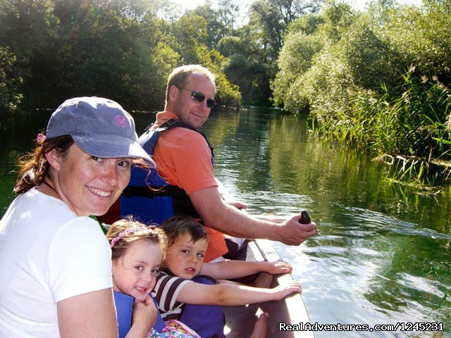 Family Activities: Canoeing on Tirino River - Italy' secret region - Abruzzo
